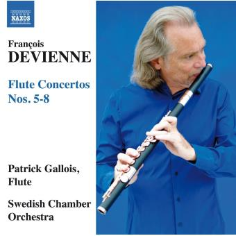 Concertos pour flûte numéro 5 à numéro 8