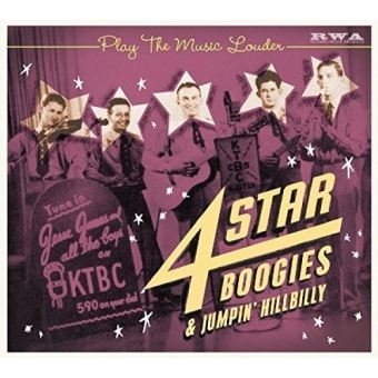 Play The Music Louder 4 Star Boogies and Jumpin' Hillbilly