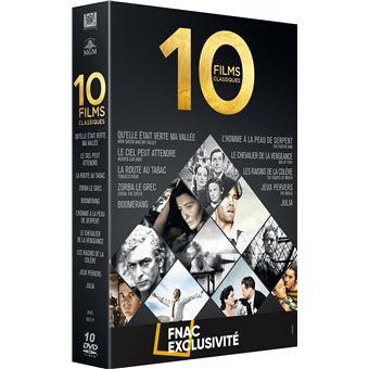 Coffret Fnac Collection 10 Grands Classiques Edition Spéciale Fnac DVD