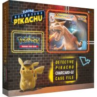 POKEMON DETECTIVE PIKACHU CHARIZARD-GX CASE FILE