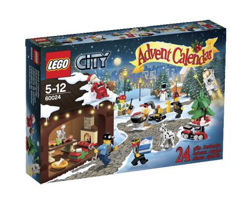 LEGO® City 60024 Le calendrier de l'Avent LEGO® City