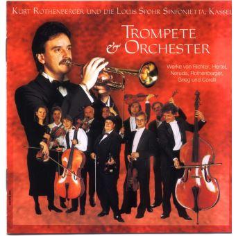 trompete orchester classique cd album. Black Bedroom Furniture Sets. Home Design Ideas