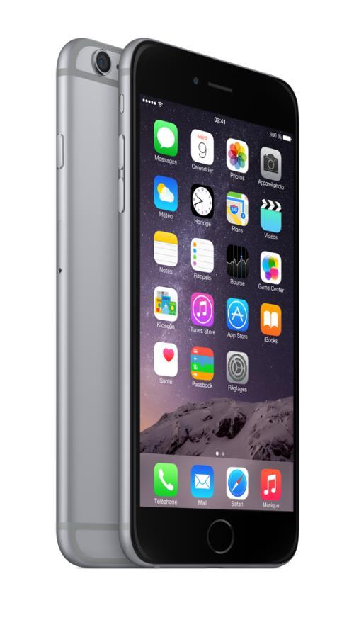 Apple iPhone 6 Plus 64 GO 5.5 gris sidéral