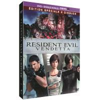 Resident evil vendetta/dvd bonus/uv