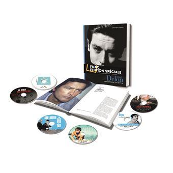 Alain Delon, une carrière, un mythe Exclusivité Fnac Coffret livre DVD