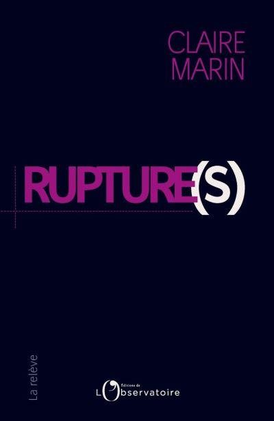 Rupture(s) - 9791032903384 - 10,99 €