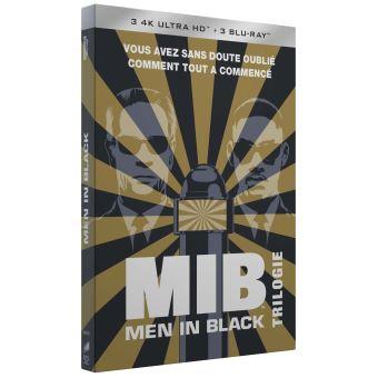 Men in BlackCoffret Men in Black La Trilogie Blu-ray 4K Ultra HD