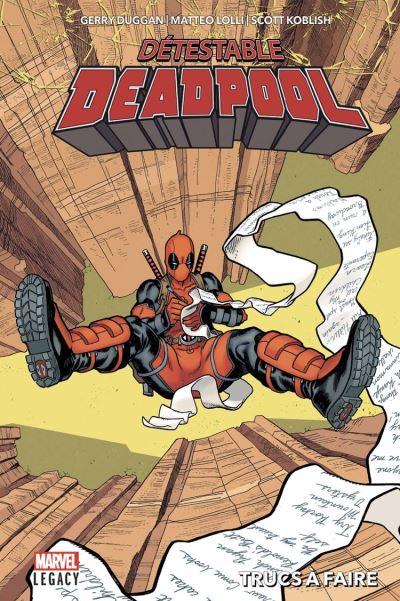 Détestable Deadpool T02 - Trucs à faire - 9782809486346 - 12,99 €