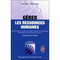 Gerer les ressources humaines. des theories aux outils, un concept integre par p