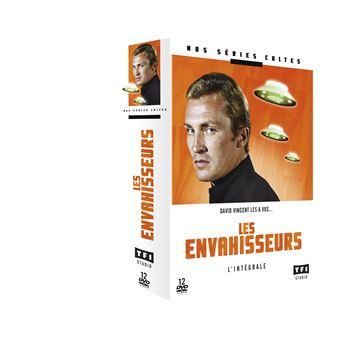 Les EnvahisseursCoffret Les Envahisseurs L'intégrale DVD