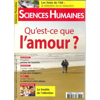 Sciences humaines,306:l'amour
