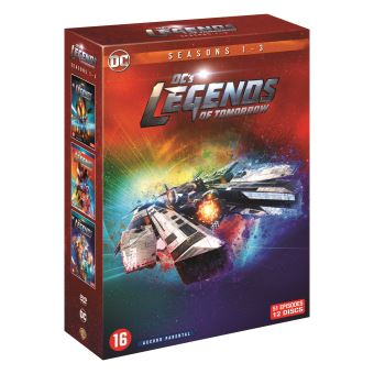 DC's Legends of TomorrowCoffret DC's Legends of Tomorrow Saisons 1 à 3 DVD