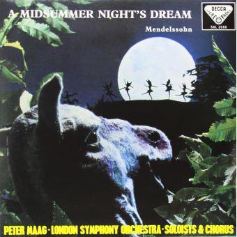 MENDELSSOHN-A MIDSUMMER NIGHT'S(LP)