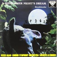 MENDELSSOHN-A MIDSUMMER NIGHT'S(LP)