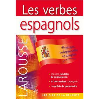 Les Verbes Espagnols Dictionnaires Bilingues Francais Espagnol Broche Gabrielle Lloret Linares Achat Livre Fnac