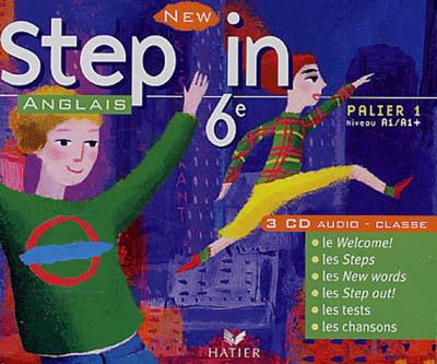 New Step In Anglais 6e - CD audio classe, éd. 2006