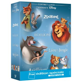 ZootopieCoffret Animaux Edition spéciale Fnac DVD