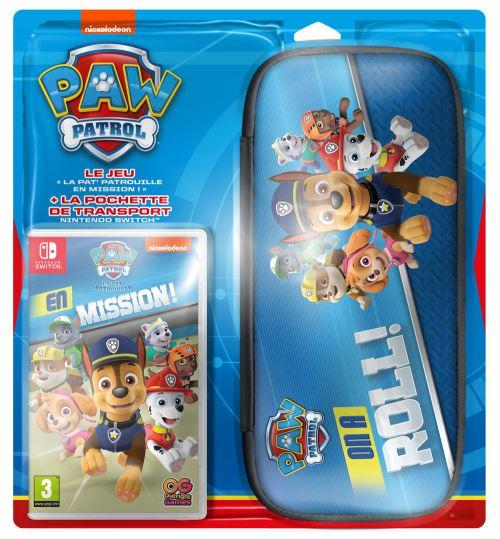 Paw Patrol : En Mission Jeu + Sacoche Nintendo Switch