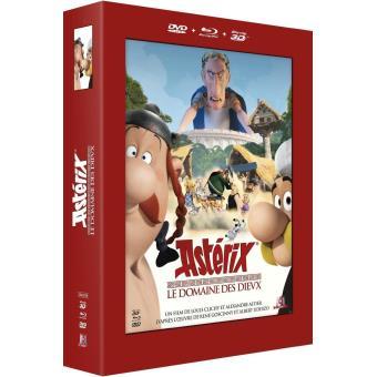 AstérixAstérix : Le domaine des Dieux Combo Blu-Ray 3D+ Blu-ray + DVD