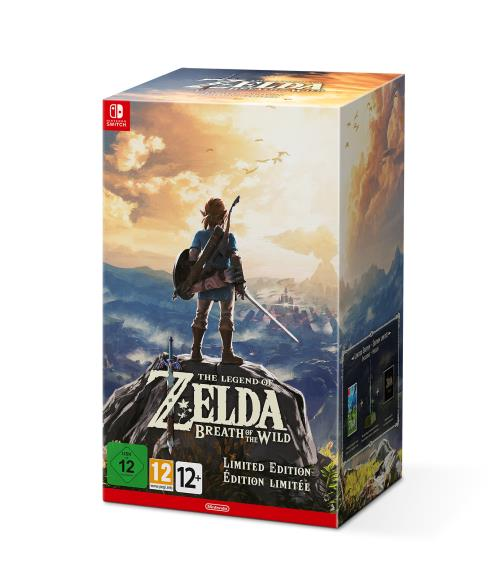 The Legend of Zelda : Breath of the Wild Edition Limitée Nintendo Switch