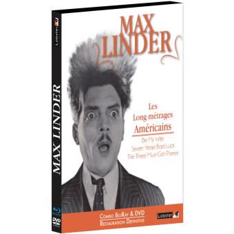 Max Linder, les longs métrages américains Blu-Ray
