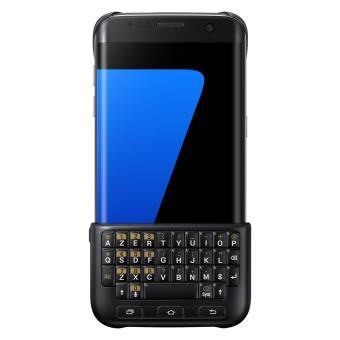 etui clavier samsung pour samsung galaxy s7 edge noir accessoire smartphone ou pda achat. Black Bedroom Furniture Sets. Home Design Ideas