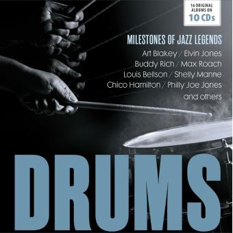 Drums - milestones of legends(10cd)