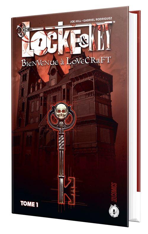 Locke Et Key Nouvelle Edition Tome 1 Locke Key T1 Bienvenue A Lovecraft Joe Hill Gabriel Rodriguez Cartonne Achat Livre Fnac
