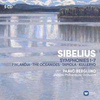 Sibelius : 7 Symphonies, Finlandia, Oceanides, Tapiola, Kullervo Coffret