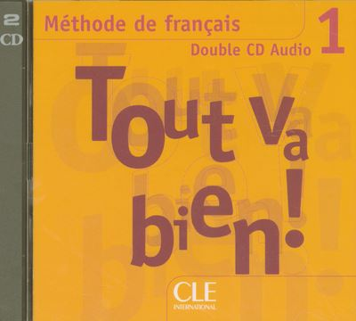Cd coll.tout va bien niv.1 de francais double cd audio