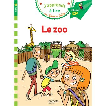 SAMI ET JULIE PREMIERES LECTURSami et Julie CP Niveau 2 Le zoo