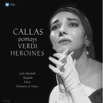 Callas portrais Verdi heroines