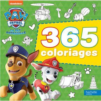 Pat Patrouille La Pat Patrouille 365 Coloriages Collectif Broche Achat Livre Fnac