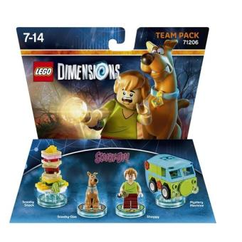figurines lego dimensions team pack scooby shaggy scooby doo sur jeux vid o. Black Bedroom Furniture Sets. Home Design Ideas