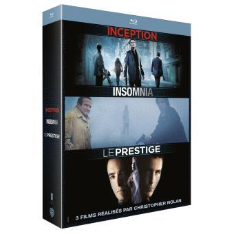 Coffret Christopher Nolan 3 Blu-Ray