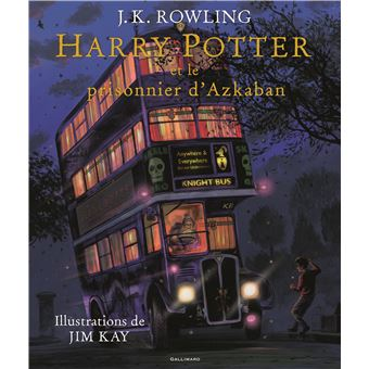 Harry Potter Edition Illustree Tome 3 Harry Potter Et Le Prisonnier D Azkaban