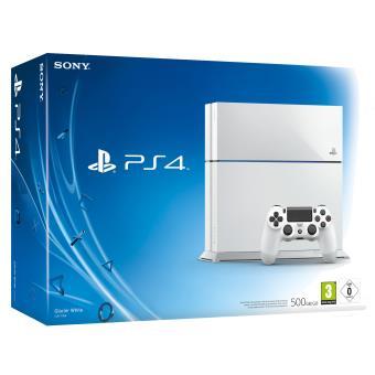 Console ps4 500 go blanche console playstation 4 sony console de jeux achat prix fnac - Prix console ps3 occasion ...