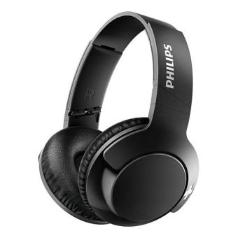 casque bluetooth philips bass shb3175 noir casque filaire fnac. Black Bedroom Furniture Sets. Home Design Ideas