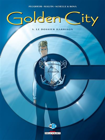 Golden city t05 le dossier harrison