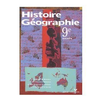 Histoire Geographie 9e Annee Livre De L Eleve Guinee