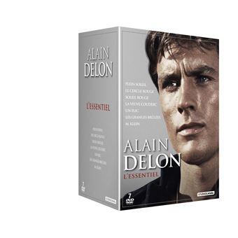 Coffret L'Essentiel Alain Delon 7 films DVD