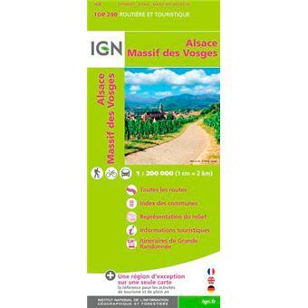 Top 200 Massif des Vosges, plaine d'Alsace