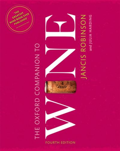 The Oxford Companion to Wine - 9780191016073 - 36,60 €