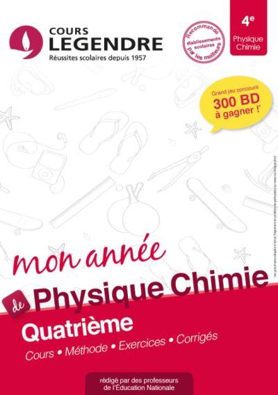 Mon Annee De Physique Chimie 4e Cours Methode Exercices Corriges Broche Alain Akhebat Achat Livre Fnac