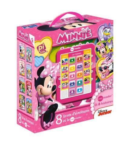 Mickey -  : Minnie ma tablette de lecture et 8 albums d'histoires