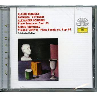 Sonates pour piano numéro 5 Opus 53 Estampes