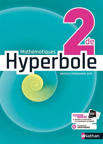 Hyperbole 2de - Manuel 2019