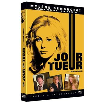 Un jour un tueur DVD