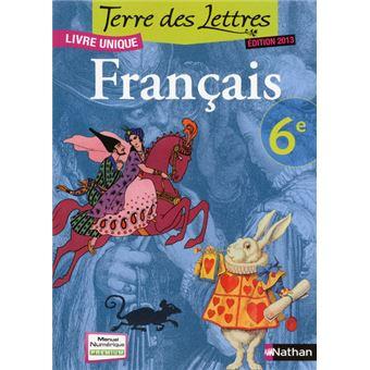 Terre Des Lettres 6e 2013 Manuel Format Compact