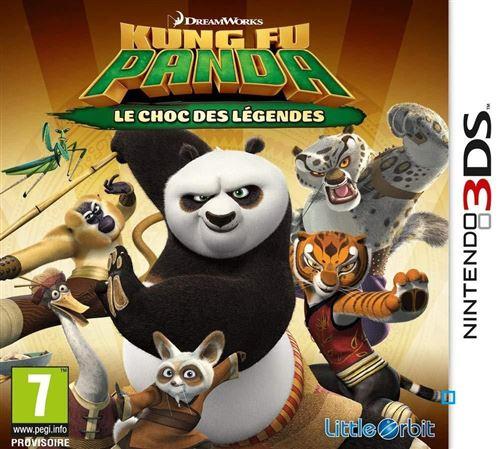 Kung Fu Panda Le Choc des Légendes Nintendo 3DS